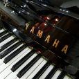 Yamaha U1 Upright Piano Black Polyester At Sherwood Phoenix Pianos 4