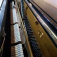 Yamaha Upright Piano Black Polyester At Sherwood Phoenix Pianos 5
