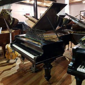Bechstein Model V Boudoir Grand Piano Restored Black At Sherwood Phoenix Pianos 1