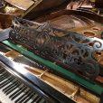 Bechstein Model V Boudoir Grand Piano Restored Black At Sherwood Phoenix Pianos 5