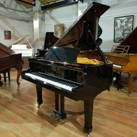 Steinhoven GP160 Baby Grand Piano Black Polyester at Sherwood Phoenix Pianos 1
