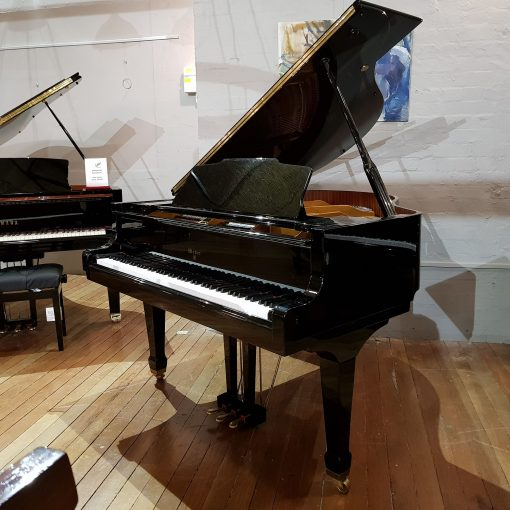 Weber WG-150 baby grand piano, in a black polyester case for sale.