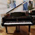 Weber WG-150 Baby Grand Piano Black Polyester At Sherwood Phoenix Pianos 2