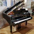 Weber WG-150 Baby Grand Piano Black Polyester At Sherwood Phoenix Pianos 3