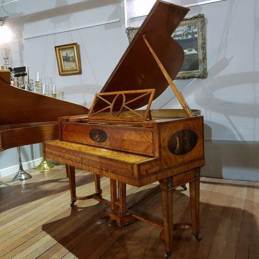 Ascherberg Perzina art case baby grand piano for sale.