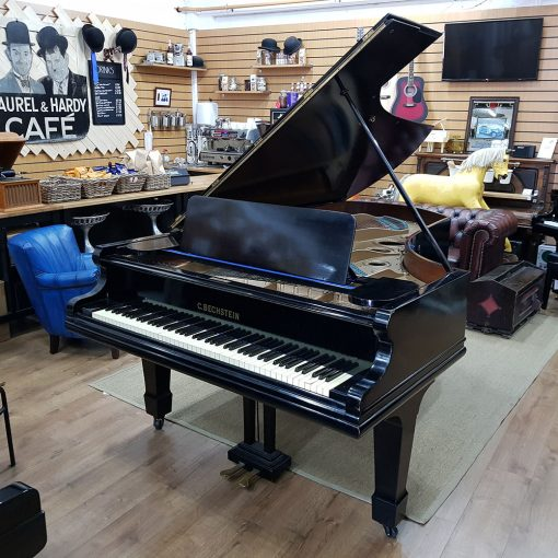 Used Bechstein Model III grand piano, in a black case, for sale.
