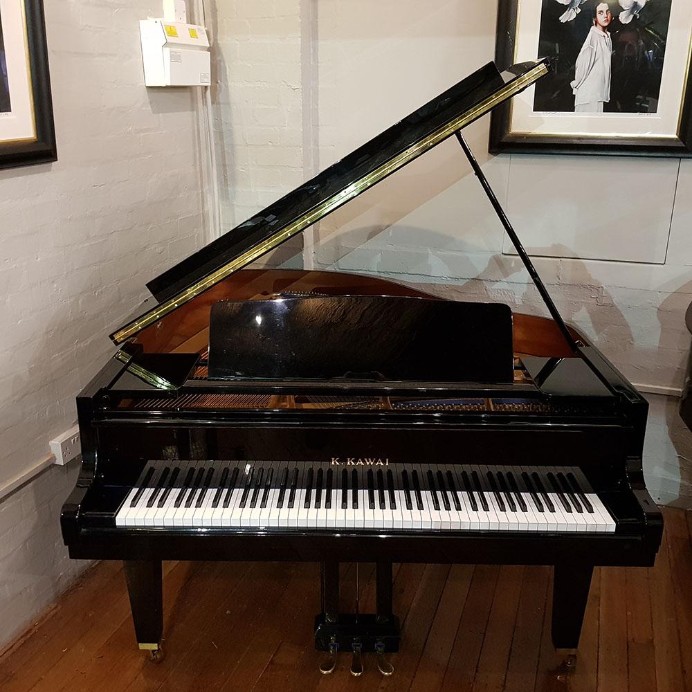 Used Kawai KF-1 Baby Grand Piano Black 2027289