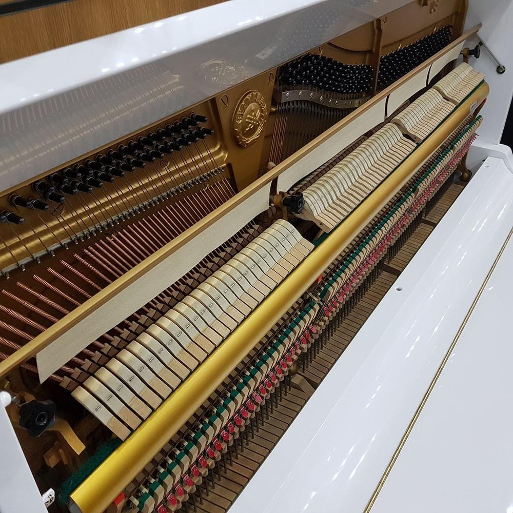 Used White Yamaha U3 Upright Piano | White | 1572552